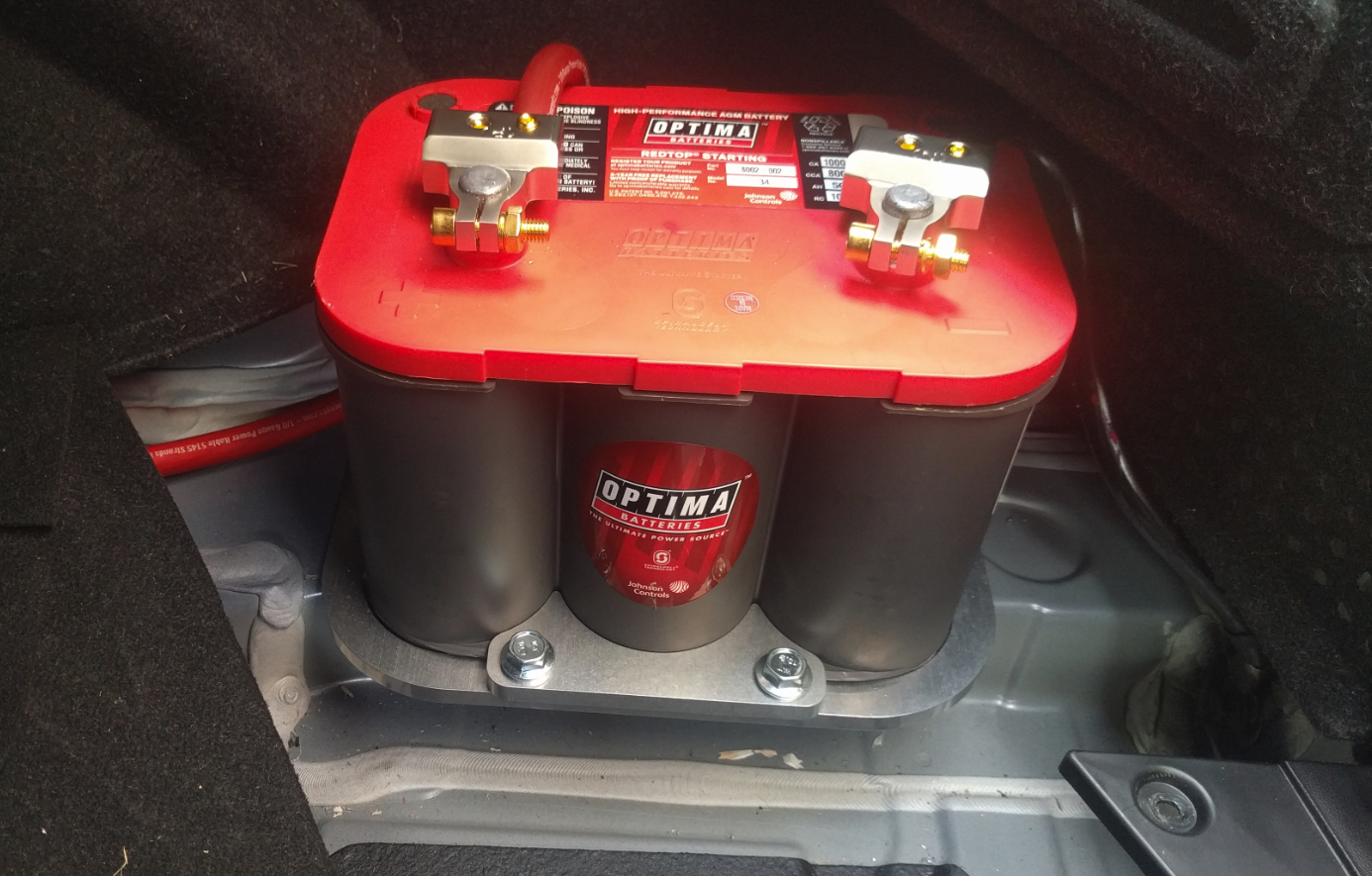 An Idiots Guide To Relocating Optima Battery The Trunk Dual Relocation Wiring Crimping Wire Terminals