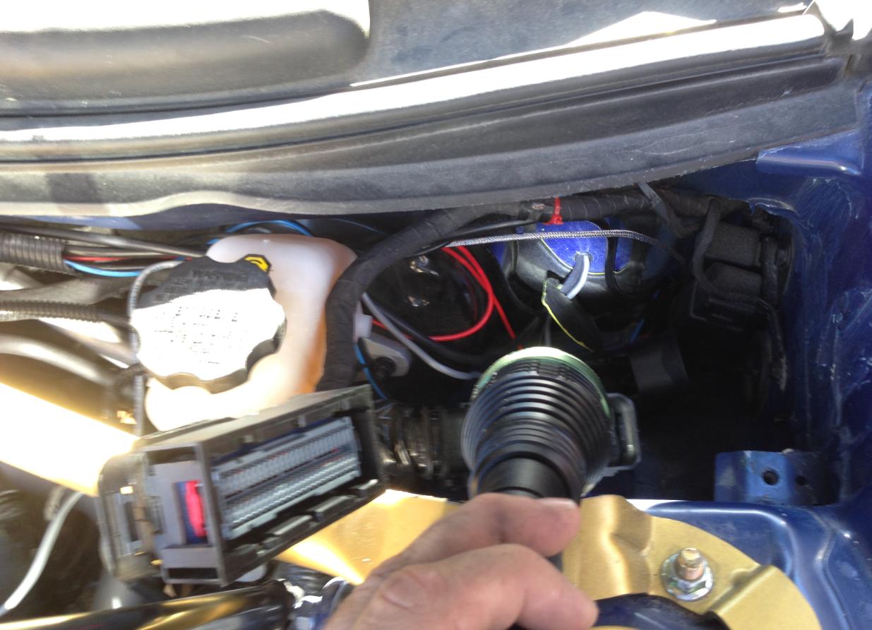 An Idiots Guide To The Msd Shift Light Hyundai Genesis Forum Wiring Diagram Installing Itself