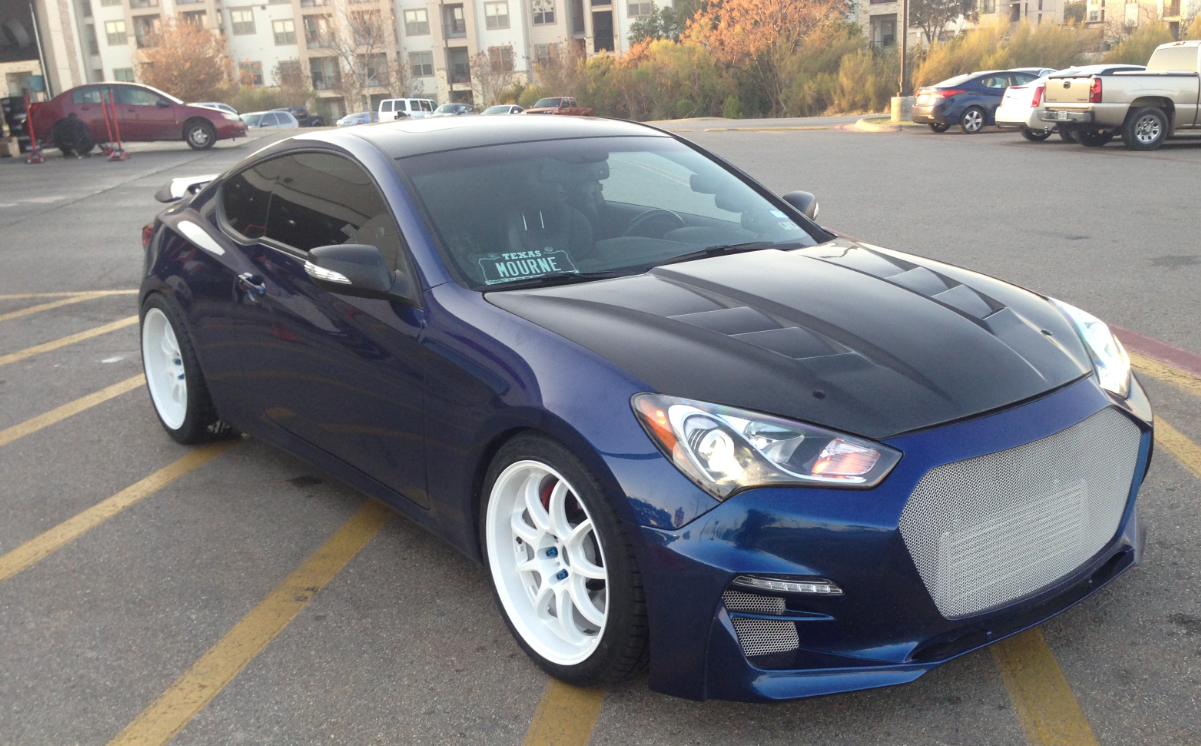 wheel fitment guide genesis coupe